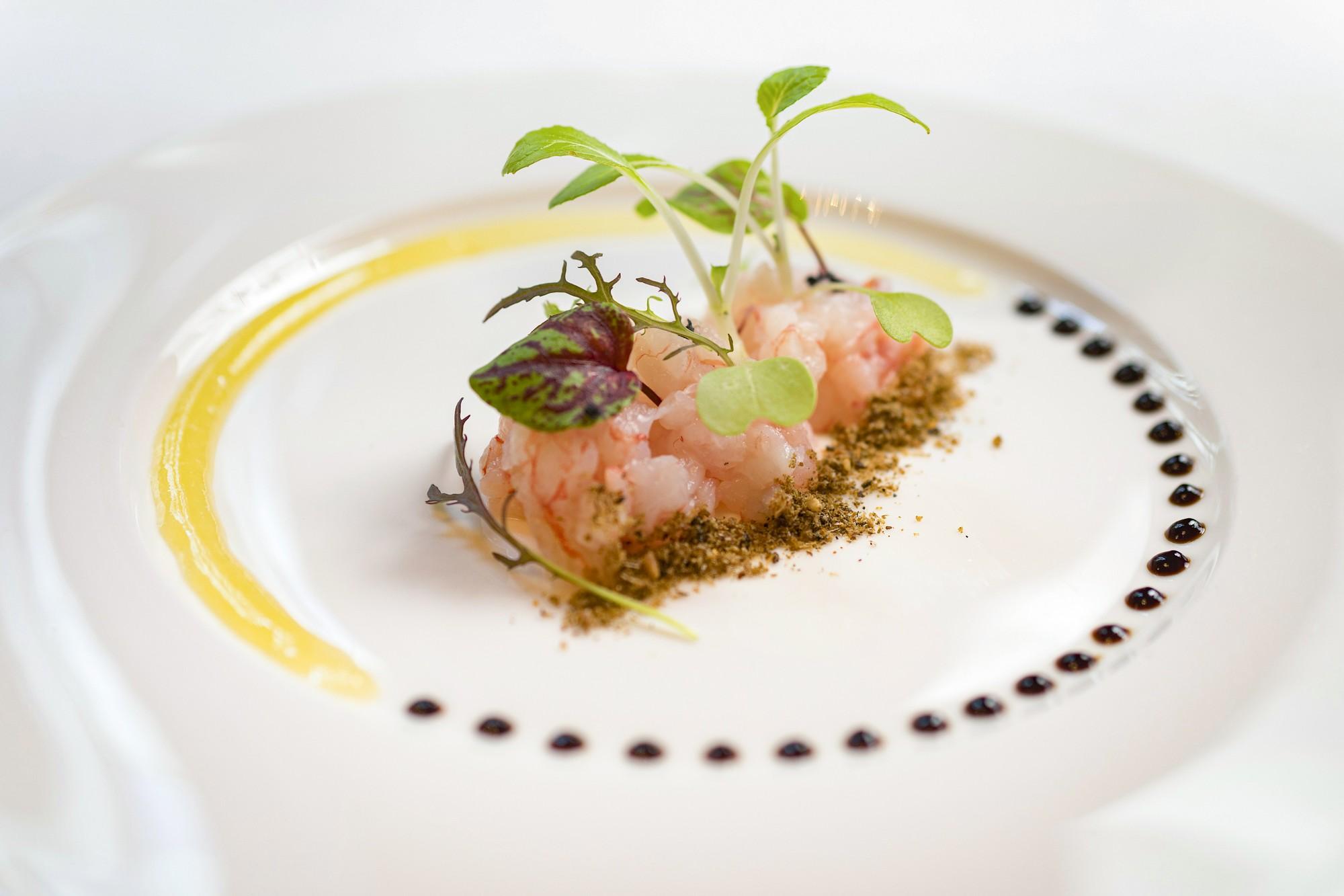 food e territorio: un crudo di pesce